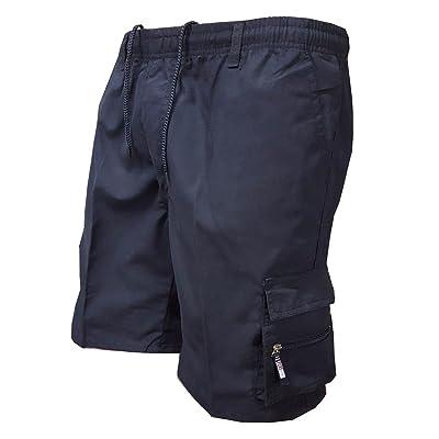 eaf6f6930cbe3 Yuxin Homme Shorts de Sport - Mode Losoe Fit Pantalon Court avec Cordon  Confortable Vêtements de Travail Pantalon pour Jogging Fitness Sports  Loisirs