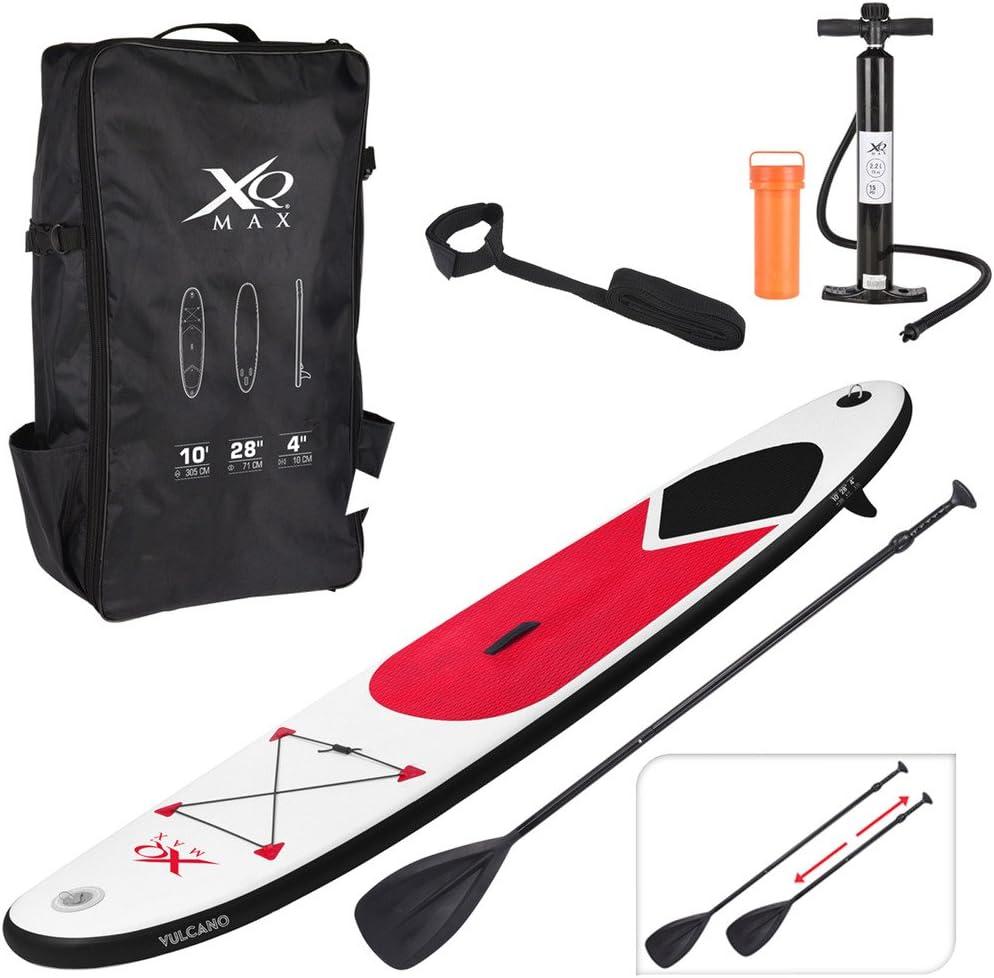 Tabla de paddle surf inflable de XQMax Sports, SUP con bomba de ...