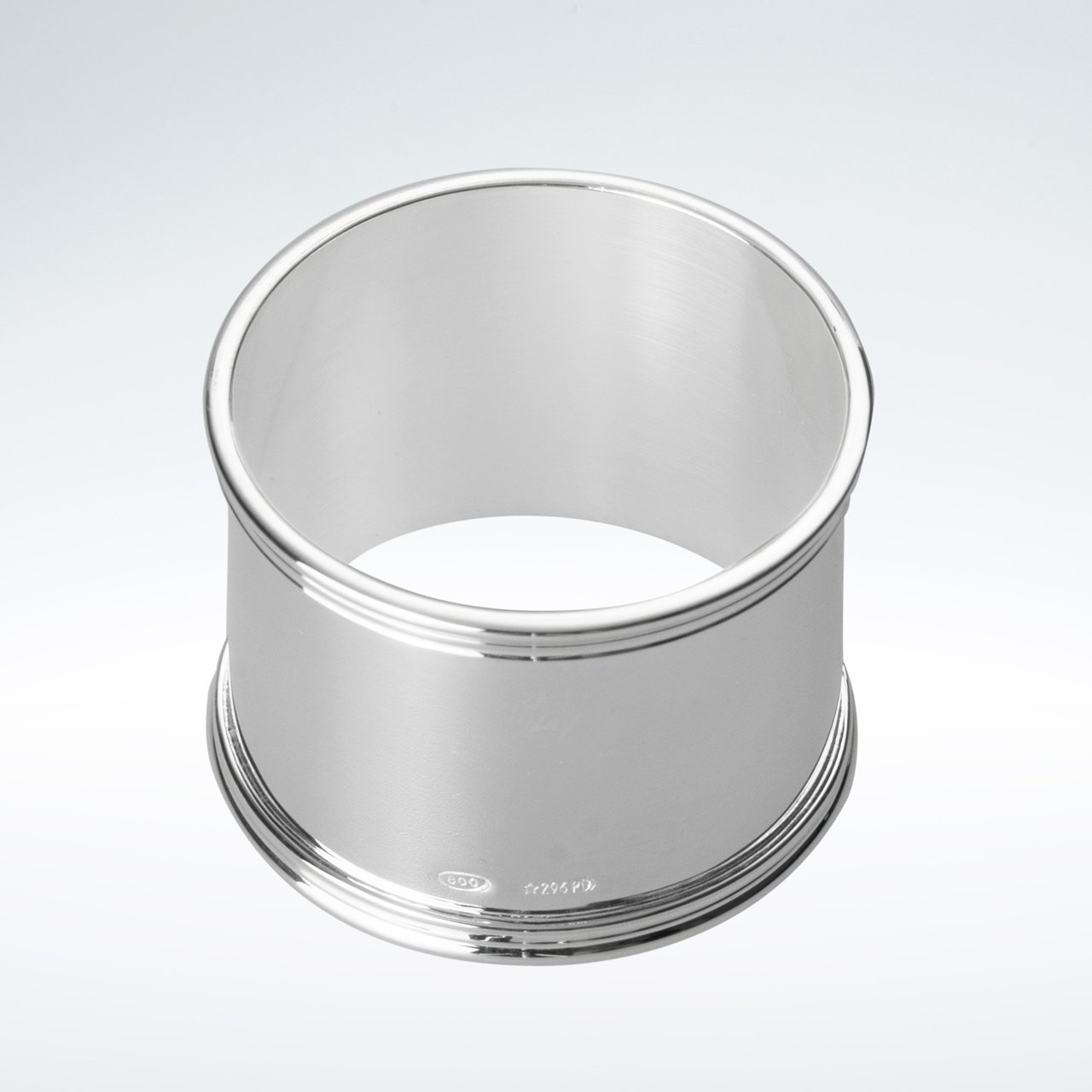 Serviettenring rund Fadenrand 800 Silber