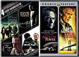 Clint Eastwood 4 Film Favorites Absolute Power & True Crime + Trouble with the Curve, Gran Torino, J. Edgar, Invictus Feature 6 movie series set