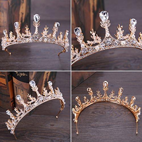 Couronne de mari/ée Vintage coiffures Femmes Bijoux Mariage Princesse diad/ème d/écor VIccoo Couronne