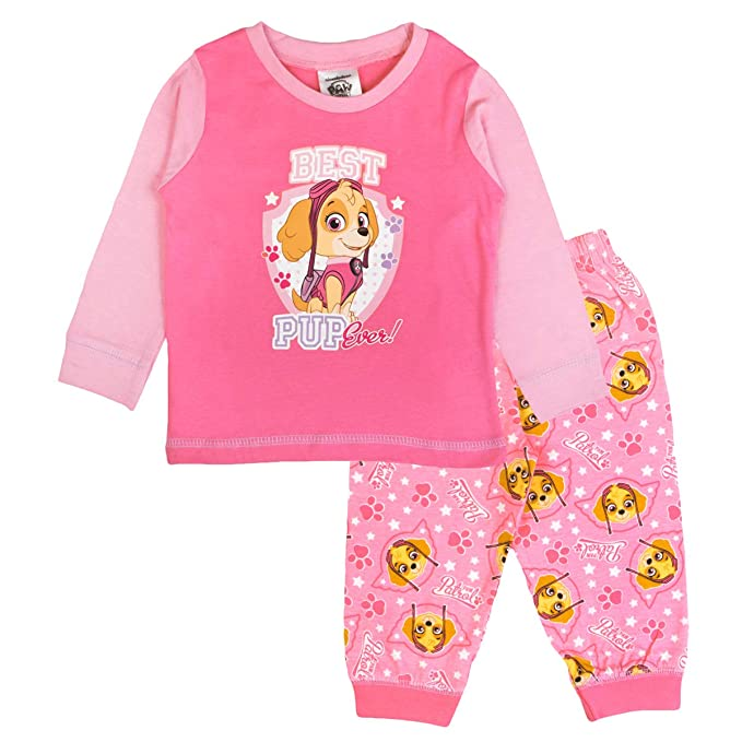 Nickleodeon - Pijamas Enteros - para bebé niña Rosa Rosa
