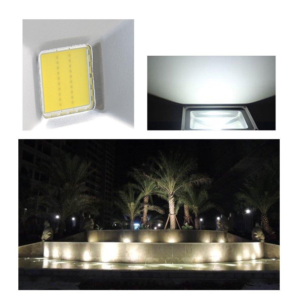 VINGO 30W Kaltweiß LED Fluter Strahler Flutlicht Scheinwerfer IP65 Außen Strahler Gartenleuchte Beleuchtung [Energieklasse A++] fsders B-1-HG4244