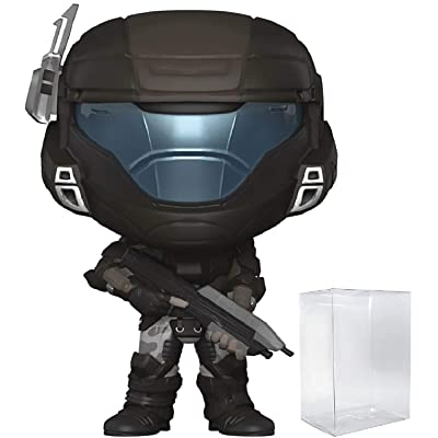 Funko Pop! Games: Halo - Orbital Drop Shock Troopers Buck (ODST) Vinyl Figure (Bundled with Pop Box Protector Case): Toys & Games