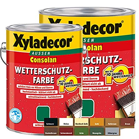 Xyladecor Farben.Xyladecor Cons Olan Weather Protection Colour Seideng Gloss