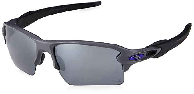 81659762dd Amazon.com  Oakley Flak 2.0 XL Hero Sunglasses Dark Grey Black  Clothing