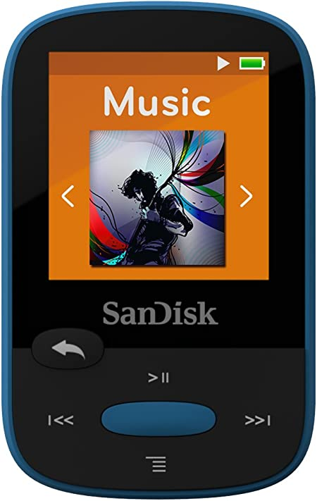 Sandisk Clip Sport 8gb Mp3 Player Blau Audio Hifi