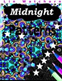 Midnight Patterns: Glowing Coloring books for Adults