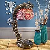 Design Toscano Art Deco Illuminated Sculpture Siren of The Sea Mermaid Lamp For Sale