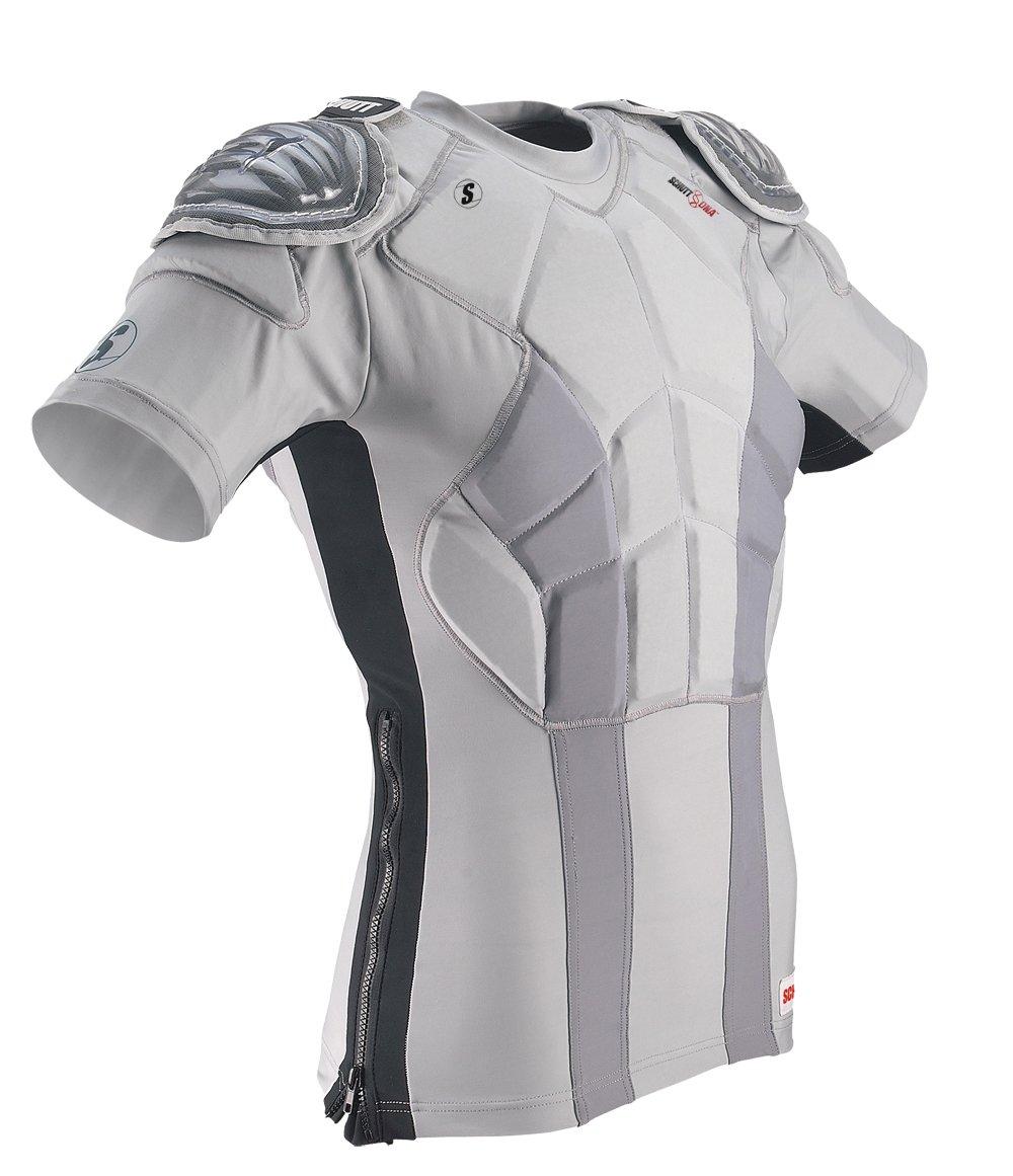 Schutt DNA Practice Shirt (Youth), Gray, Large by Schutt