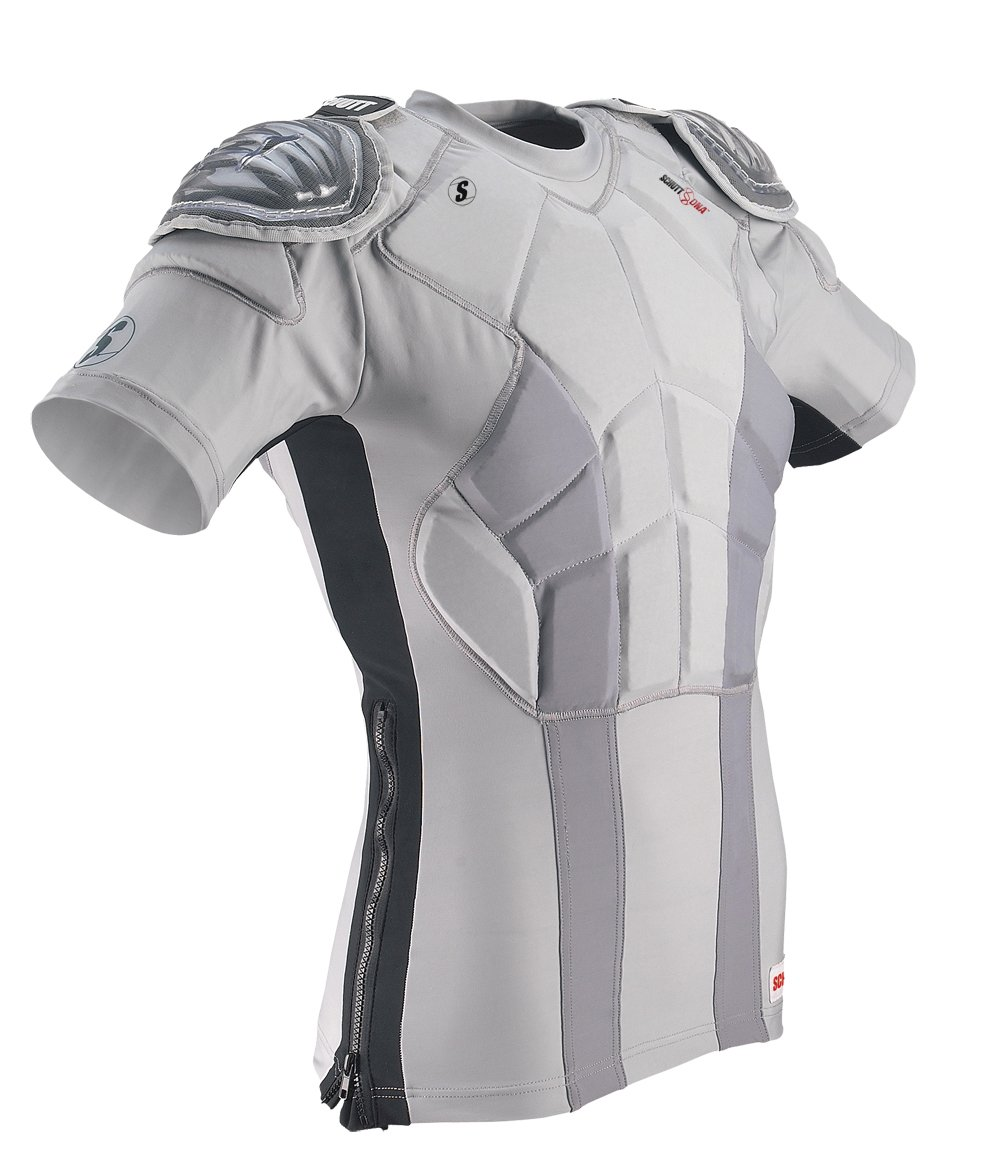 Schutt DNA Practice Shirt (Youth), Gray, Medium