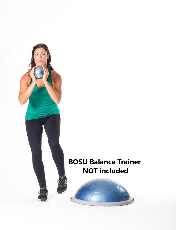Bosu Fitness Ball with DVD, 4 lb: Amazon.es: Deportes y aire libre