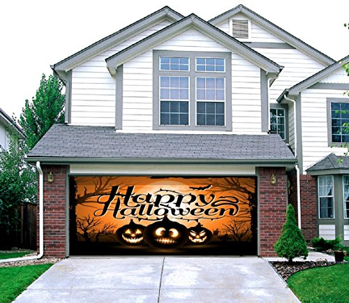 Night of the Jack-O'-Lantern - Outdoor Halloween Holiday Garage Door Décor