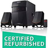(Certified REFURBISHED) Philips MMS-2550F/94 2.1 Channel Multimedia Speakers System (Black)