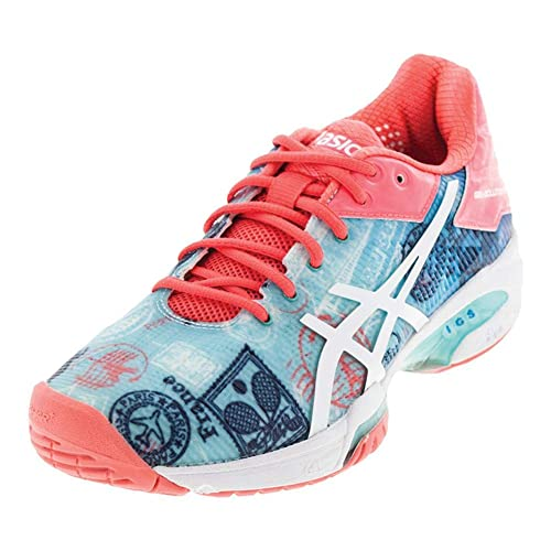 6a68ff60e703 ASICS Gel Solution Speed 3 Limited Edition Paris Womens Tennis Shoe ...
