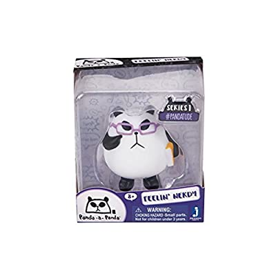 Panda-a-Panda Pandatude Series 1 Feelin' Nerdy Figure: Toys & Games