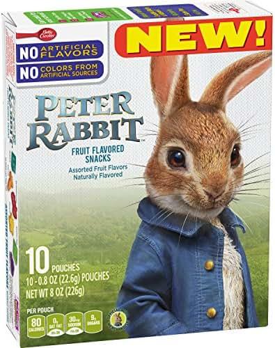 Fruit Snacks: Peter Rabbit