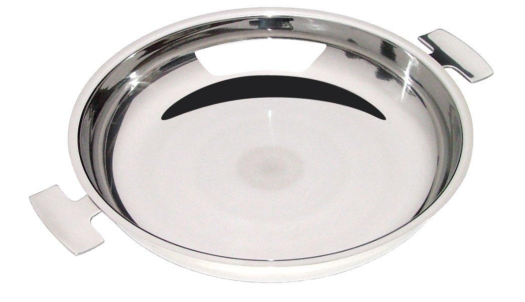 Baumstal 9225-Sartén de paella acero inoxidable 18/10, 28 cm ...