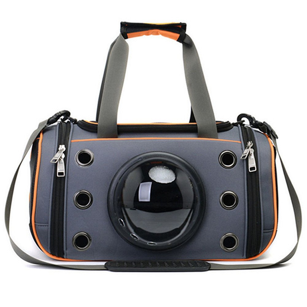 M Iacon Dog Box Bag Transport Bag Shoulder Flight Bag Pet Carrier for Pets Dogs and Cats, M, L