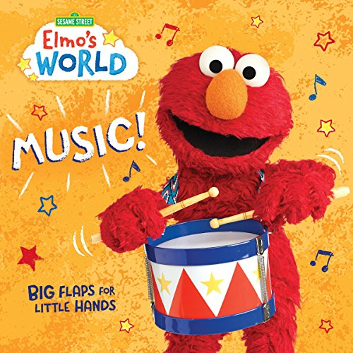 Elmo's World: Music! (Sesame Street) (Lift-the-Flap)