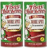 Tony Chacheres More Spice Creole Seasoning - 14 oz (2 Pack) by Tony Chacheres More Spice Creole Seasoning