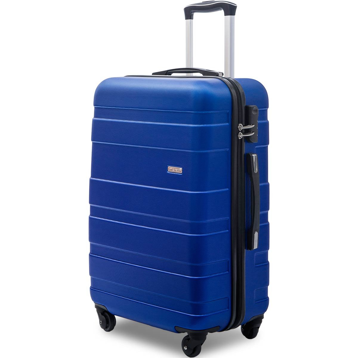 Merax Afuture Luggage Lightweight Spinner Suitcase 20inch 24inch and 28 inch Available (20-Carry on, Blue)