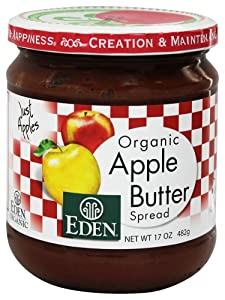 EDEN ORGANIC APPLE BUTTER 17 OZ