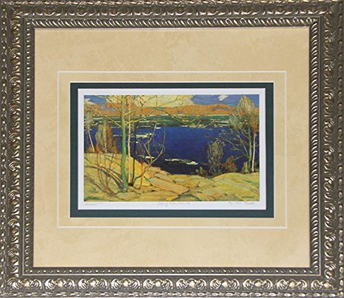 Midway Memorabilia Spring Ice 1915-1916 by Tom Thomson Canadian Art Print Frame Group of Seven