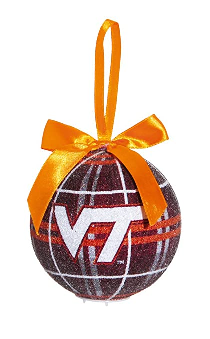 Image Unavailable. Image not available for. Color: Virginia Tech Light Up  LED Sparkle Plaid Christmas Ornament - Amazon.com : Virginia Tech Light Up LED Sparkle Plaid Christmas