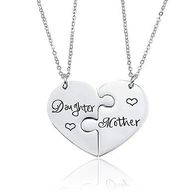 características sobresalientes estilo limitado elige lo último Liuanan - Juego de 2 Collares para Madre e Hija: Amazon.es ...