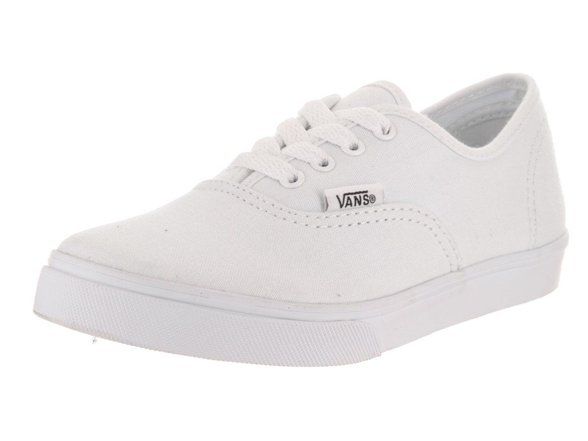 Vans Kids Authentic Lo Pro True White Skate Shoe 1.5 Kids US