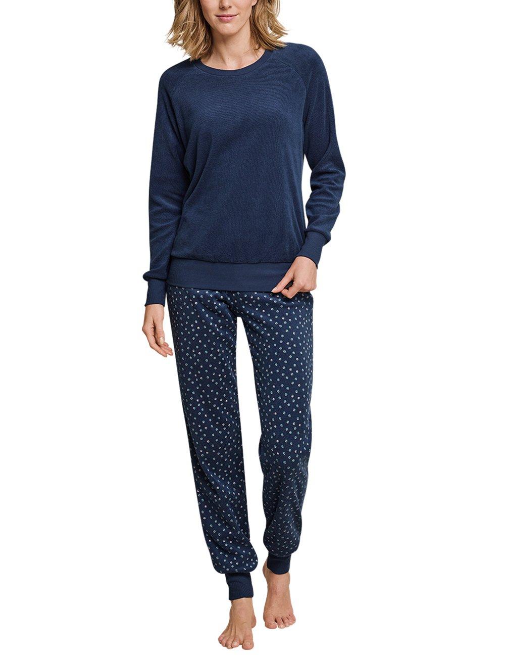 Schiesser Damen Zweiteiliger Schlafanzug Anzug Lang 162988