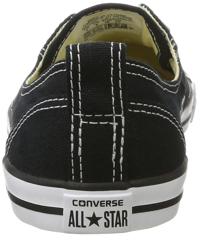 CTAS Ballet Lace-Slip Women, Zapatillas Sin Cordones para Mujer, Negro (Black 001), 37.5 EU Converse