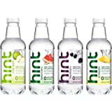 Hint Fruit Infused Water Variety Pack, (Pack of 12) 16 Ounce Bottles, 3 Bottles Each of: Crisp Apple, Watermelon, Pineapple, and Blackberry, Unsweet Water with Zero Diet Sweeteners
