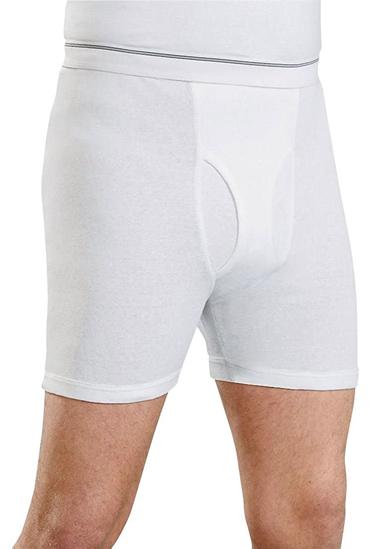 Kings' Court Men's Big & Tall 6 Pack Cotton Boxer Briefs Kings' Court