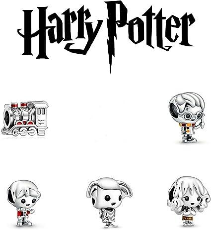 Juliana of London - Juego de 5 colgantes de Harry Potter de ...