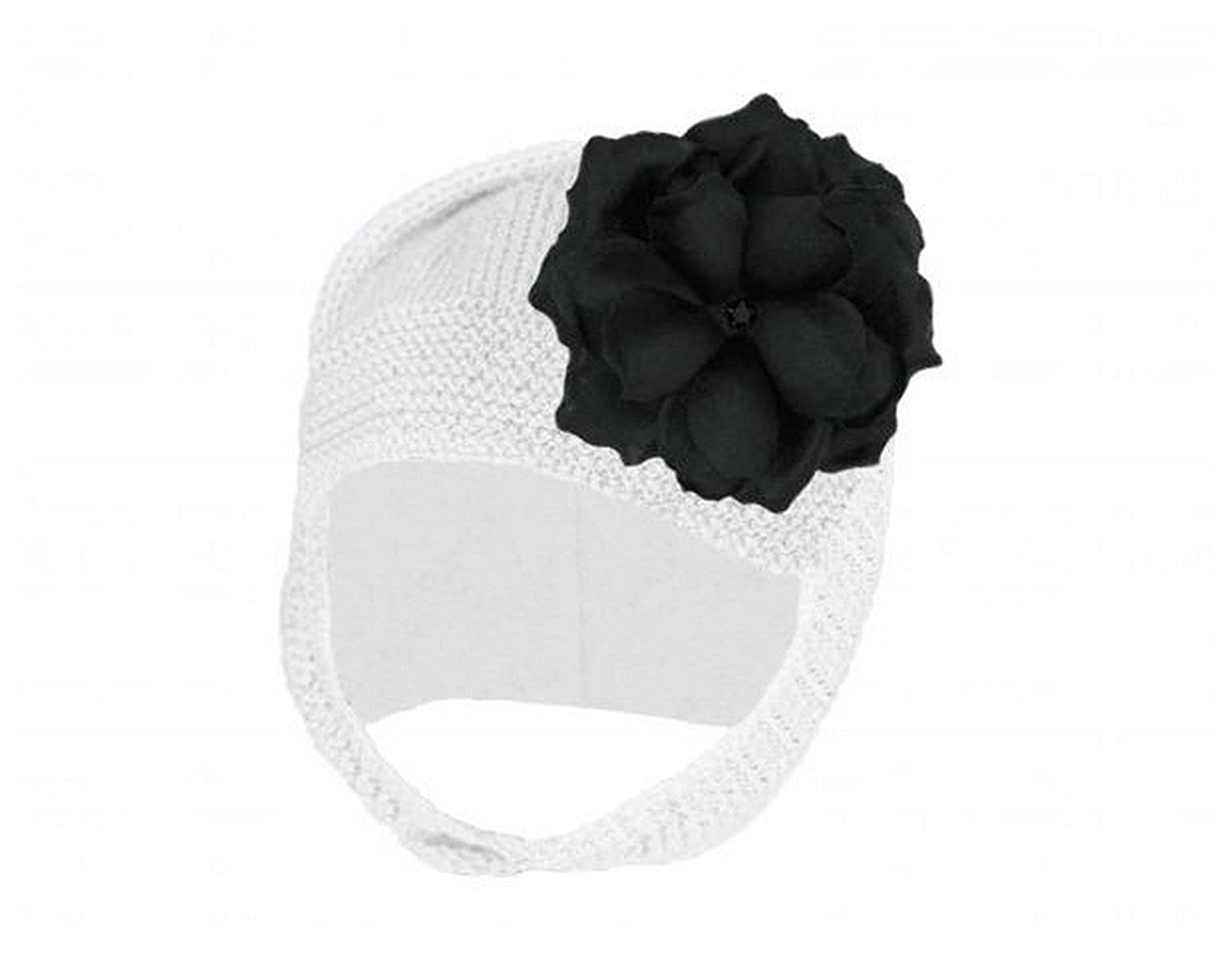 Blossom Bonnets with Black Small Rose
