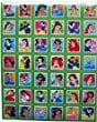 Disney Princesses ~ Stamp Sized - A4 Sheet of stickers