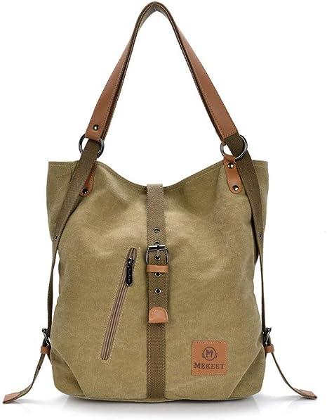 Mekeet Damen Rucksack Handtaschen Geldbeutel Multifunktionale Umhangetasche 3 In 1 Verformbar Tote Bag Fashion Schultertasche Amazon De Koffer Rucksacke Taschen