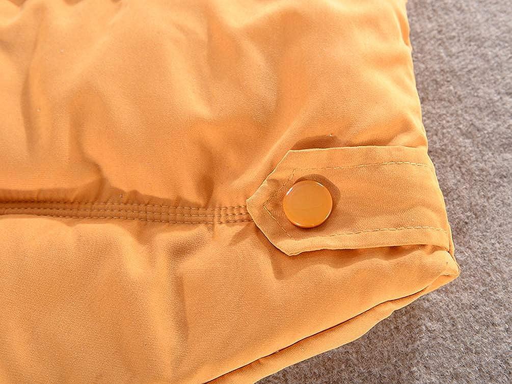 Women Quilted Zip Gilet Hooded Sleeveless High Neck Vest Jacket Cotton Gilet Body Warmer