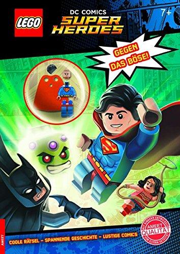 LEGO DC Comics Superhelden. Gegen das Böse!: Rätselbuch mit Minifigur