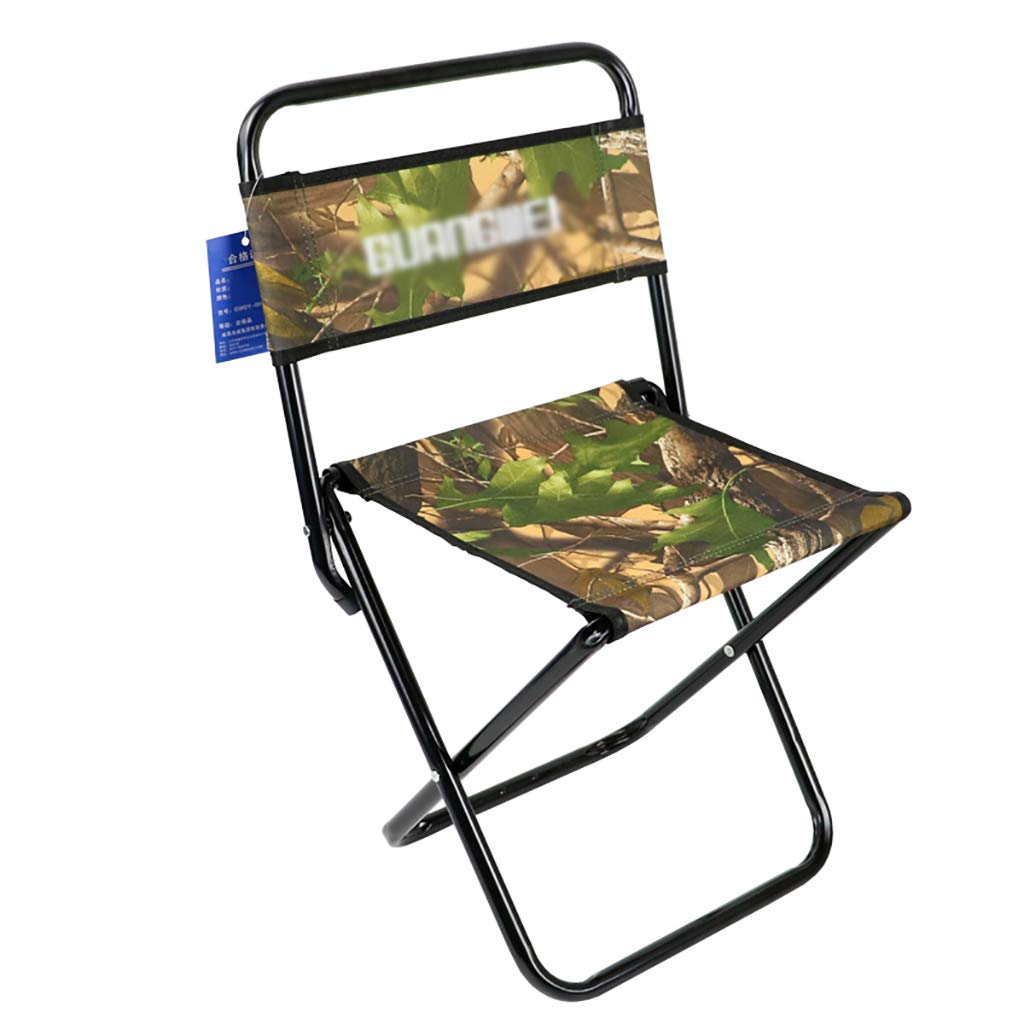 Luggage Racks- Folding metal back outdoor Mazar stool Leisure fishing beach canvas chair Multi-function home Hotel luggage rack Size: 272547cm