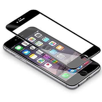 b1e67e9a313 iPhone 6/ 6s Protector de Pantalla, Coolreall 3D Completo Cobertura Curva  Blanco Protector Templado Vidrio para iPhone 6/ 6s ( Dureza 9H, ...