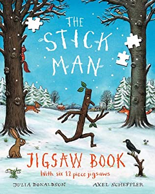 book cover of Stick Man Jigsaw Book
