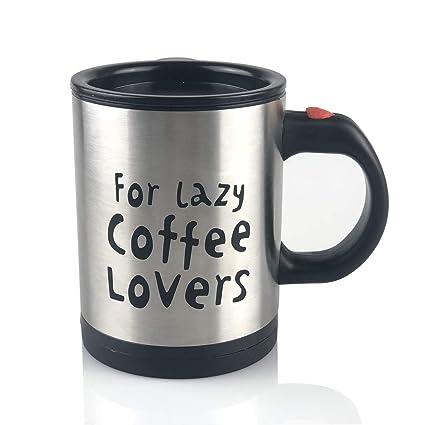 Eflying Lion Self Stirring Mugs For Lazy Coffee Lovers