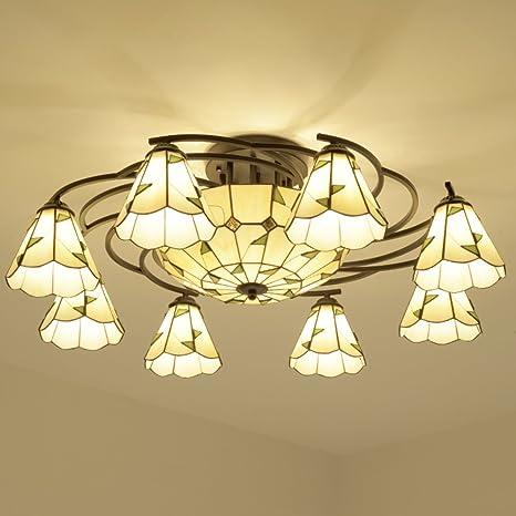 Redondo lámpara de techo en el Mediterráneo lámparas ...
