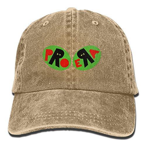 Hat Era Vintage (Richard The Pro Era Adult Cotton Washed Denim Visor Cap Hat Adjustable Natural)