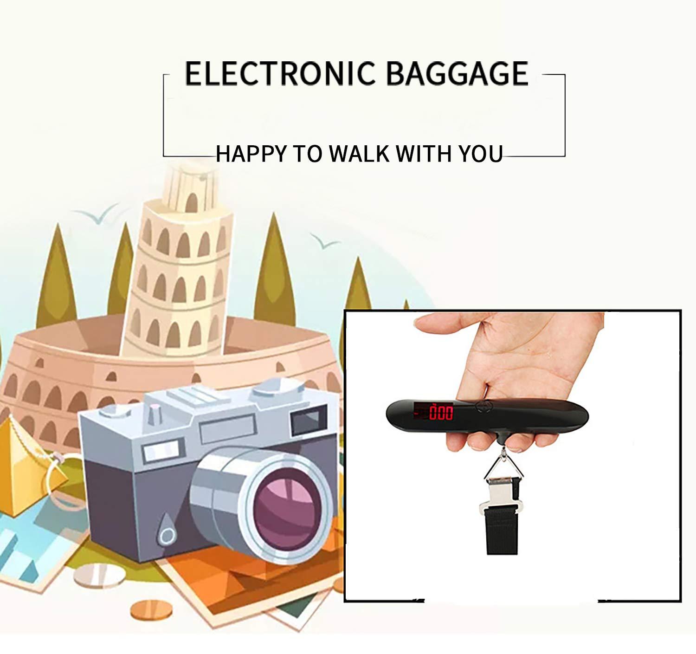 Lostbreaker Manual Portable Handheld Travel Digital Luggage Scale