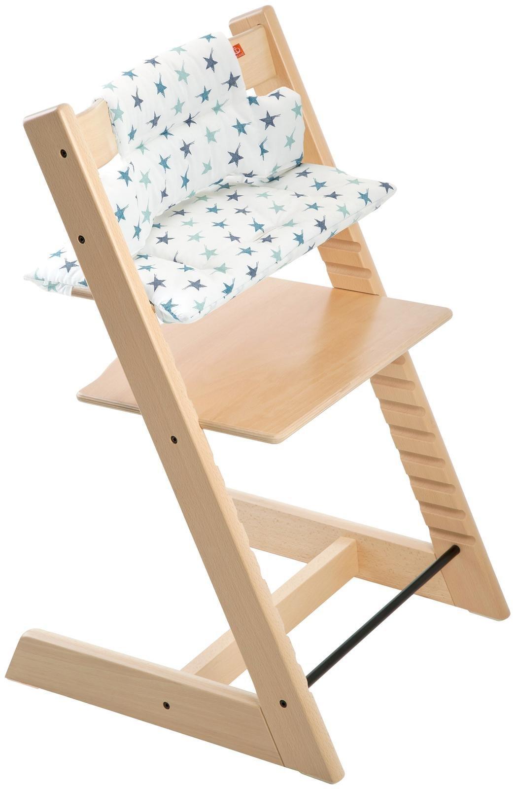 Stokke Tripp Trapp Cushion, Aqua Star