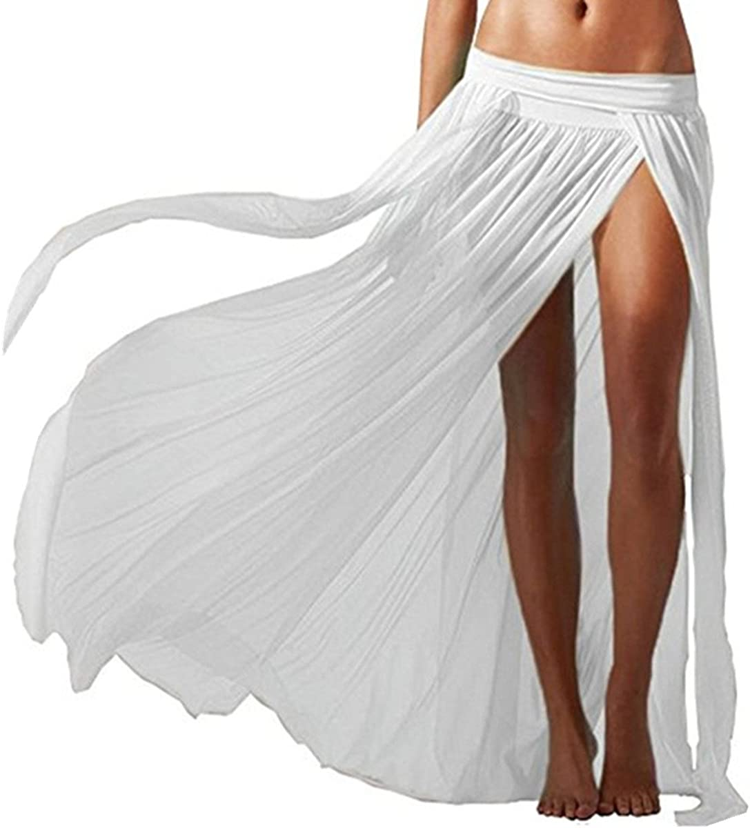 AiJump Falda de Playa Pareo Bikini Cover Up de Malla para Mujer ...